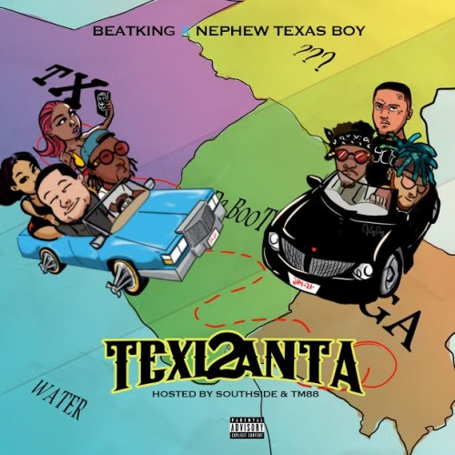 BeatKing & Nephew Texas Boy - Texlanta 2 Cover Art