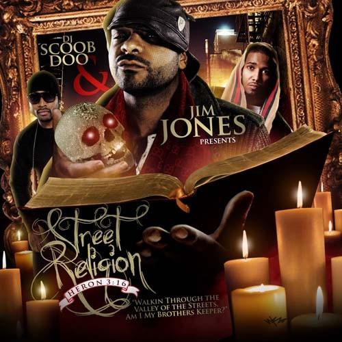 Jim Jones - Street Religion (Heron 3:16) Cover Art