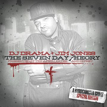 Jim Jones - The Seven Day Theory (ByrdGangsta Grillz Special Edition) Cover Art