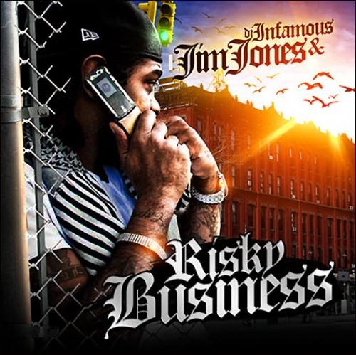 Jim Jones - Risky Business Cover Art