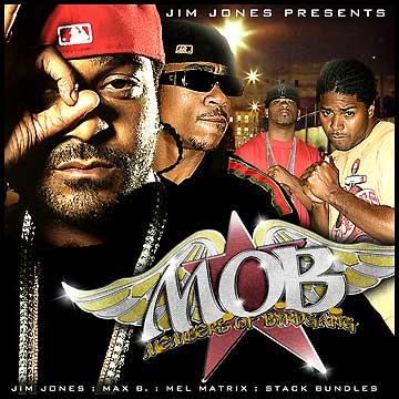 Jim Jones - Jim Jones Presents: M.O.B. (Members Of Byrdgang) Cover Art