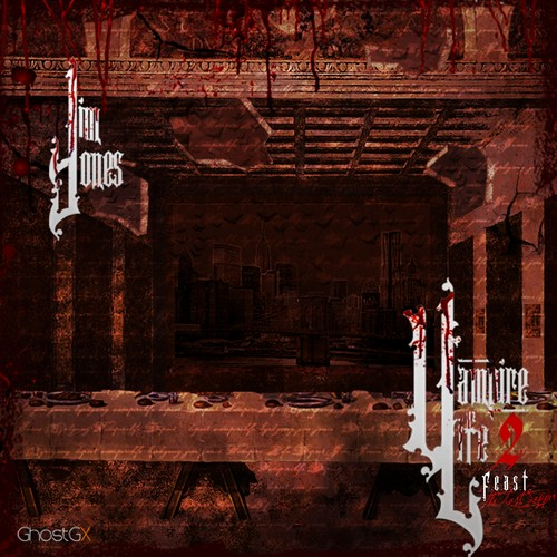 Jim Jones - Vampire Life 2: F.E.A.S.T. (The Last Supper) Cover Art