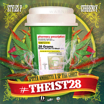 Curren$y & Styles P - #The1st28 Cover Art