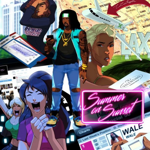 Wale - Summer On Sunset Cover Art