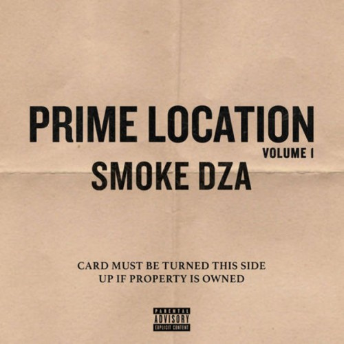 Smoke DZA - Prime Location Vol. 1 Cover Art
