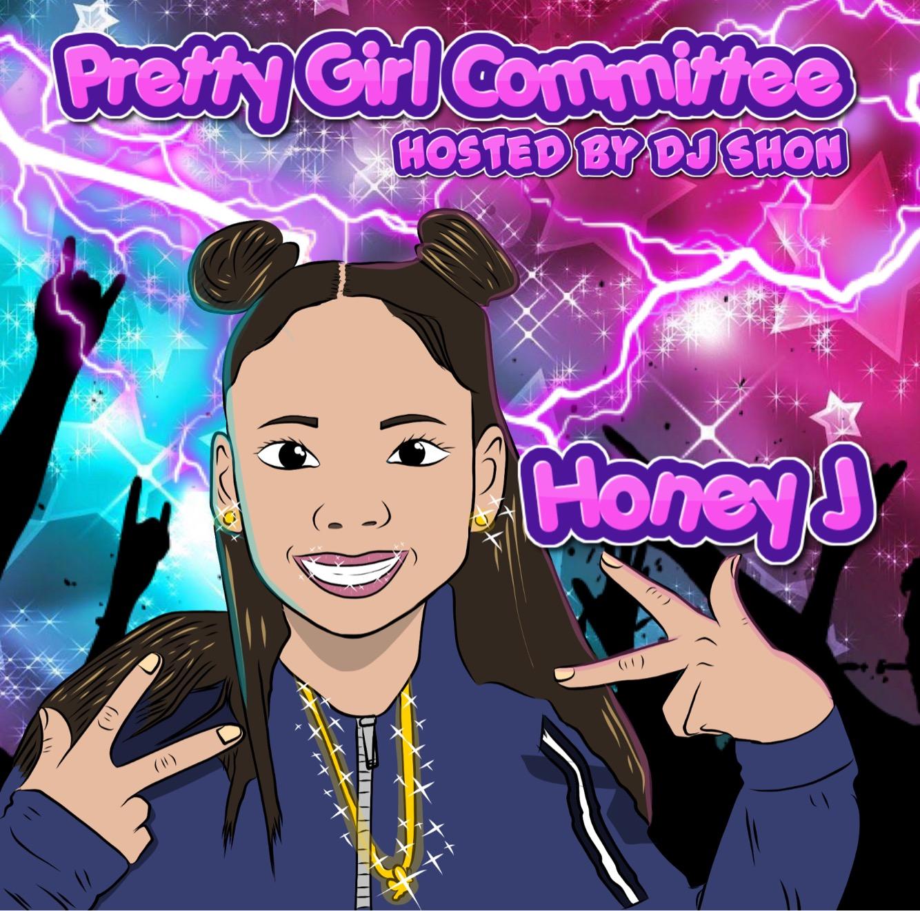 Honey J - Pretty Girl Committee Cover Art
