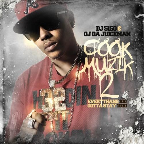 OJ Da Juiceman - Cook Muzik 2 Cover Art